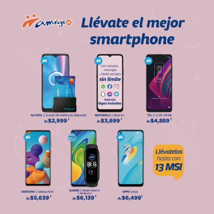 amigo kit de telcel, celular de alta tecnologia - blog hola telcel