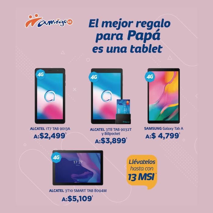 tablets con amigo kit de telcel