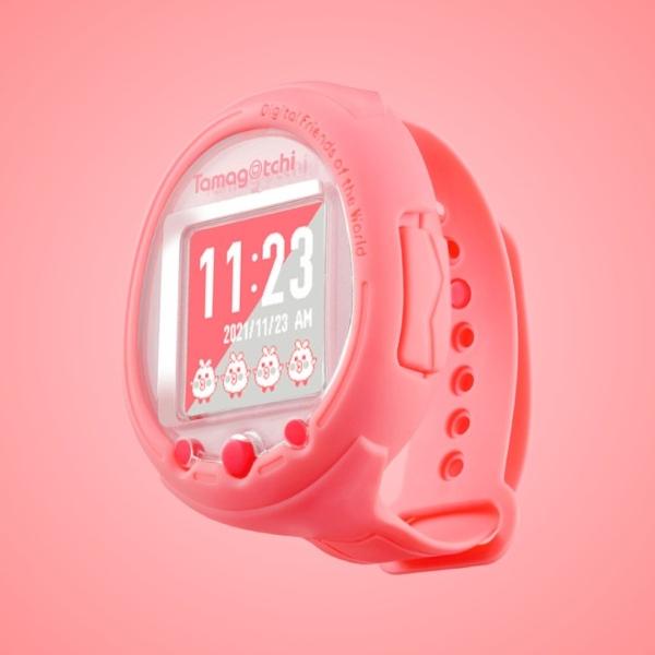 Nuevo Tamafgotchi versión smartwatch color rosa.- Blog Hola Telcel