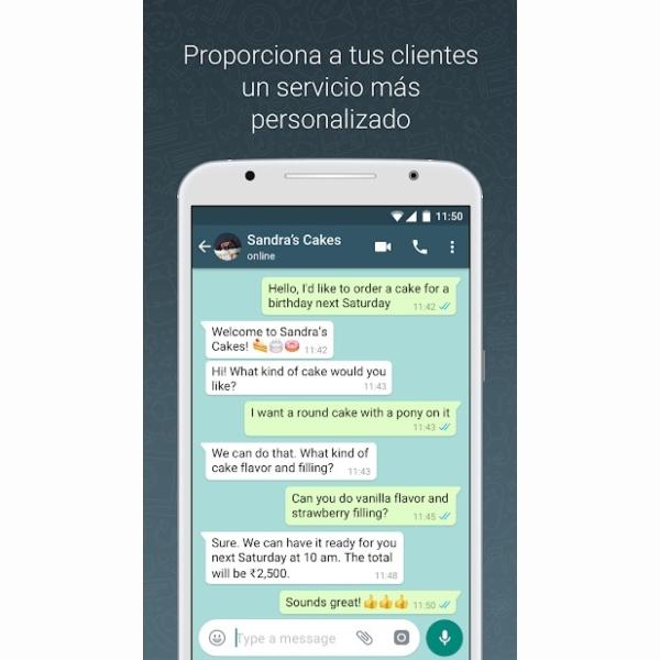 WhatsApp Business APK, creada para pequeñas y medianas empresas.- Blog Hola Telcel