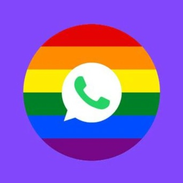 WhatsApp logo color arcoíris.- Blog Hola Telcel
