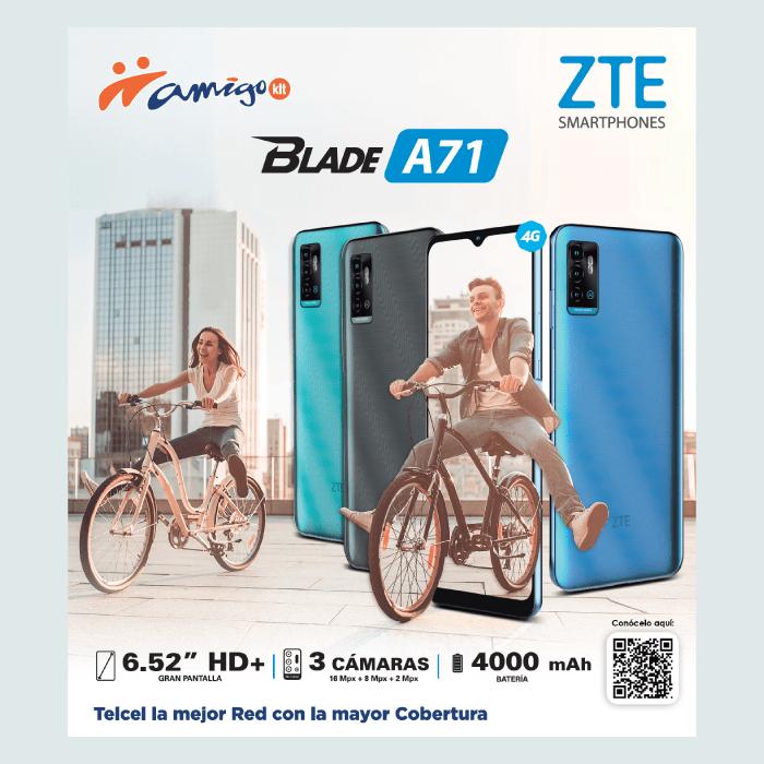 asi luce el diseño del ZTE Blade A71 - blog hola telcel