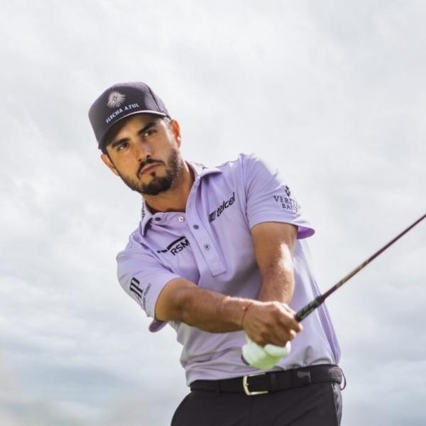 Abraham Ancer, golfista mexicano que forma parte de los Juegos en Tokio 2020.- Blog Hola Telcel