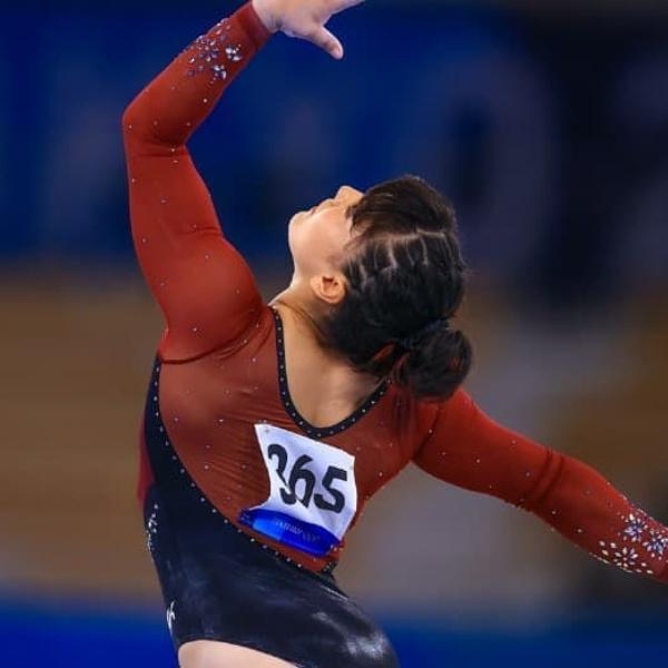 Alexa Moreno, gimnasta mexicana que podría obtener una medalla en Tokio.- Blog Hola Telcel