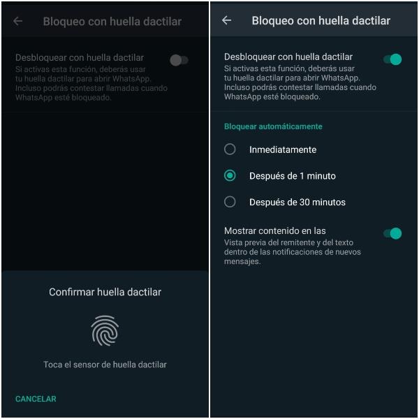 WhatsApp: ¿Cómo bloquear tus conversaciones con huella dactilar?- Blog Hola Telcel