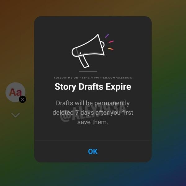 Los borradores de Instagram Stories solo se conservarán durante siete días, después se eliminarán.- Blog Hola Telcel