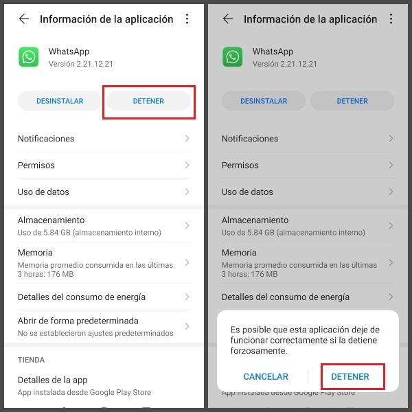 Forzar la detención de la aplicación sin tener que desinstalarla.- Blog Hola Telcel