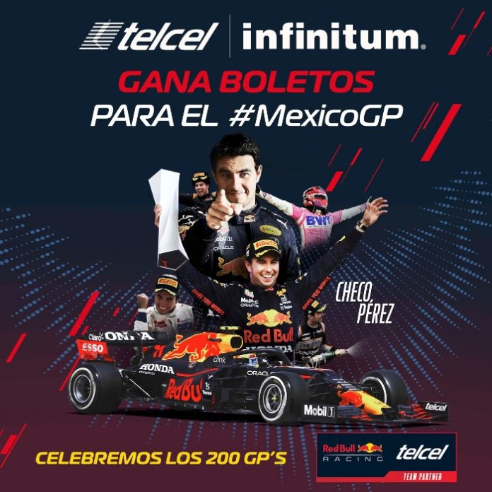 Dinámica Telcel para ganar los boletos de México GP, Checo Pérex.- Blog Hola Telcel