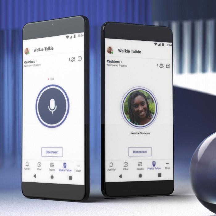 microsoft teams walkie talkie - Blog Hola Telcel