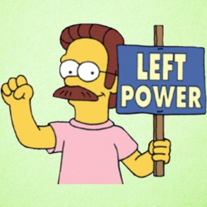 Ned Flanders apoyando el 'modo zurdo' de Android.- Blog Hola Telcel