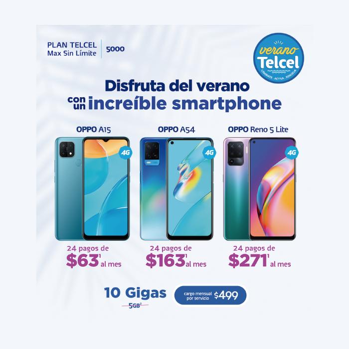 ¡Aprovecha la oportunidad de estrenar un nuevo OPPO en un Plan Telcel!- Blog Hola Telcel