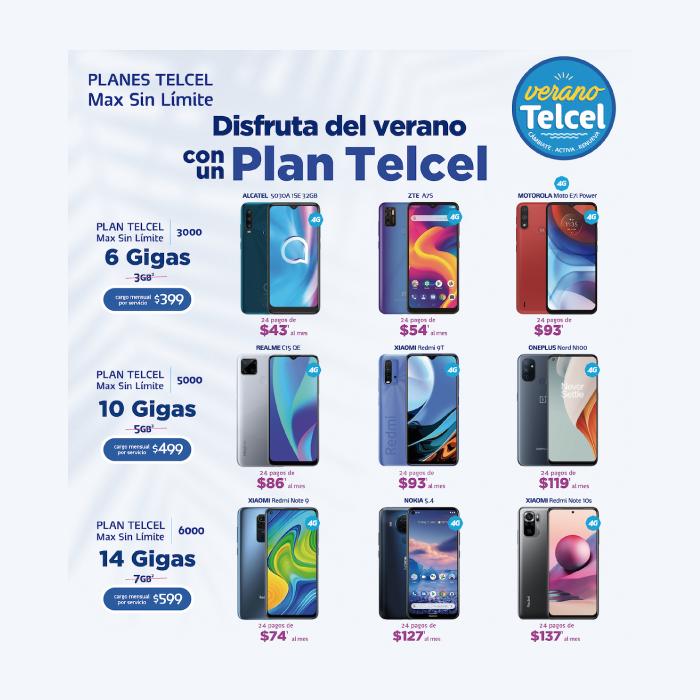 ¡El verano llegó con grandes promociones para disfrutar en un Plan Telcel! - Blog Hola Telcel