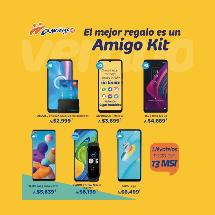 Si estás en busca de un nuevo equipo que te acompañe durante el verano, Amigo Kit tiene para ti grandes opciones. Vigencia al 07 de julio de 2021.
