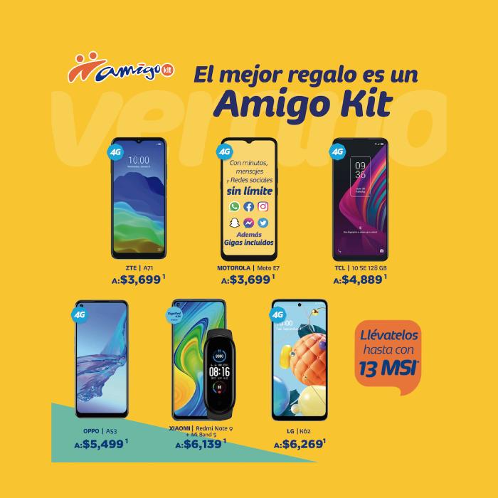 ¡Con Amigo Kit y Telcel estrenarás este verano a lo grande!- Blog Hola Telcel