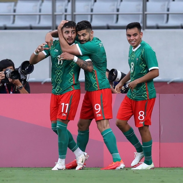 La selección mexicana de futbol se prepara para su próximo enfrentamiento contra Sudáfrica en los J.J.O.O. Tokio 2020.- Foto Hola Telcel