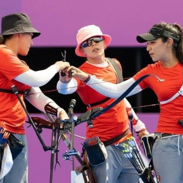 Equipo de tiro con arco de México que triunfó con bronce en Tokio.- Blog Hola Telcel