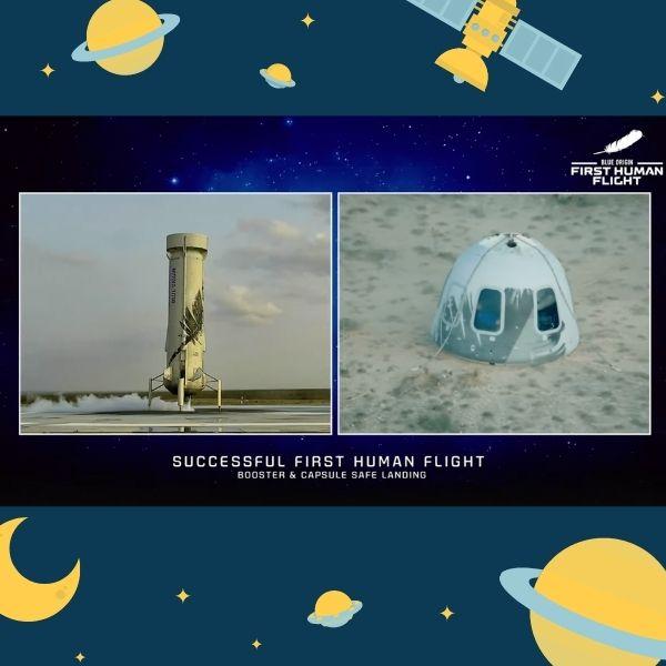 qué implica el viaje de Jeff bezos al espacio - Blog Hola Telcel