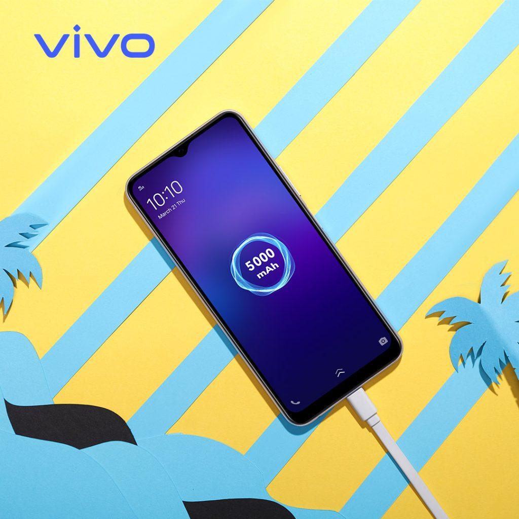 El vivo y20 cuenta con una potente batería de 5000 mAh. Disponible en Telcel. - Blog Hola Telcel