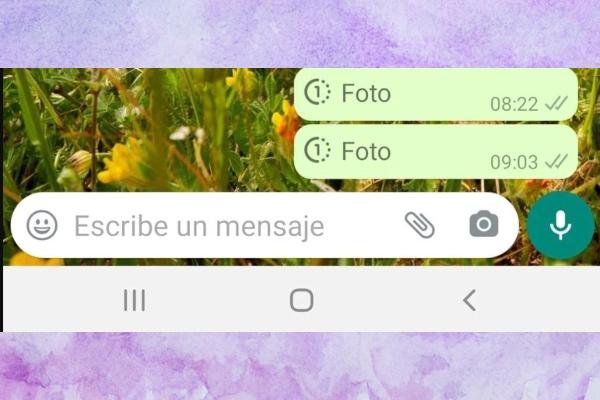 Nuevo icono de un uno dentro de un círculo punteado, como parte de la próxima actualización de WhatsApp.- Blog Hola Telcel