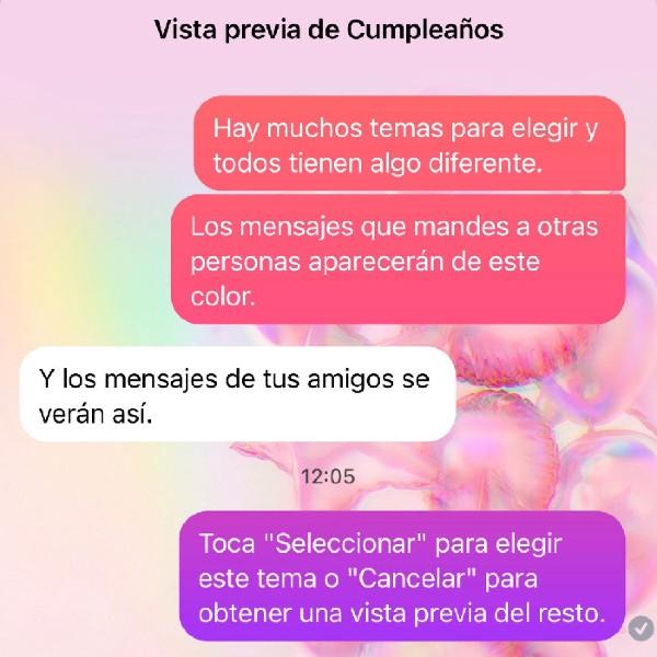 Nuevos temas por cumpleaños 10 de Facebook Messenger - Blog Hola Telcel