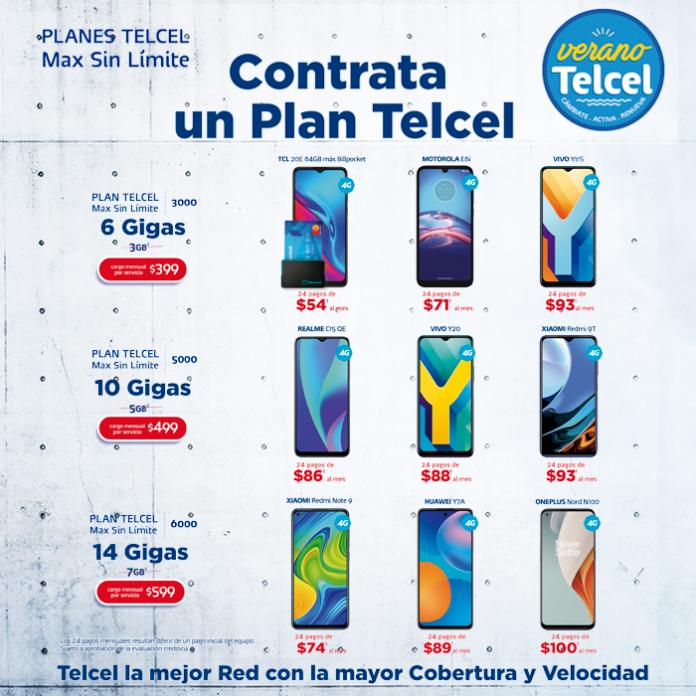 No hay nada mejor que disfrutar de un nuevo teléfono, el cual puedes obtener gracias a tu Plan Telcel. Vigencia al 18 de agosto de 2021.- Blog Hola Telcel