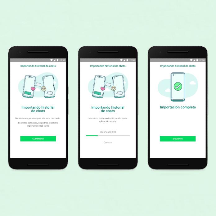 WhatsApp anuncio en Galaxy Unpacked 2021 transferencia de chats en sistemas operativos diferentes - Blog Hola Telcel
