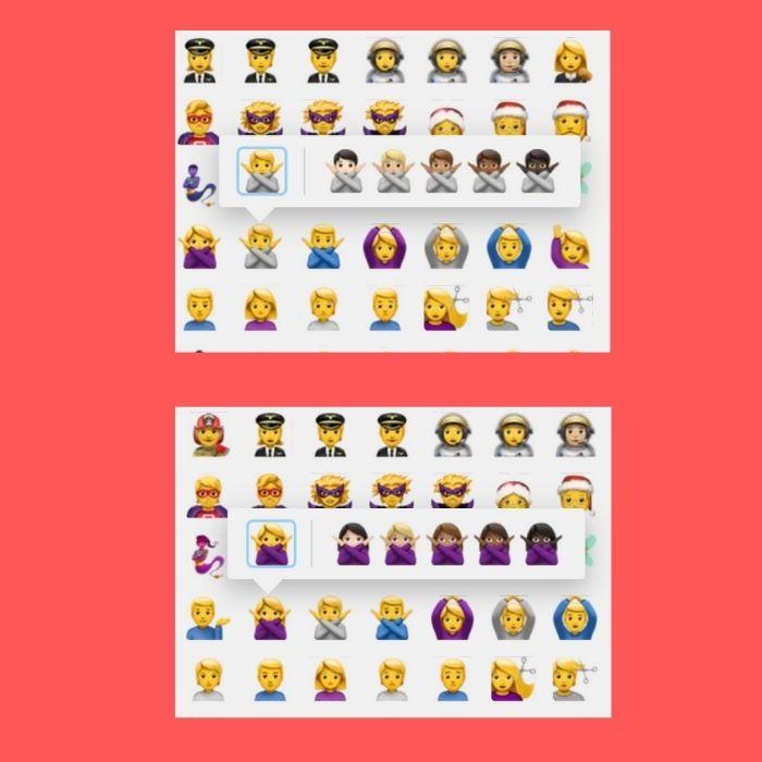 Cuándo usar el emoji de la persona con los brazos en equis - Blog Hola Telcel