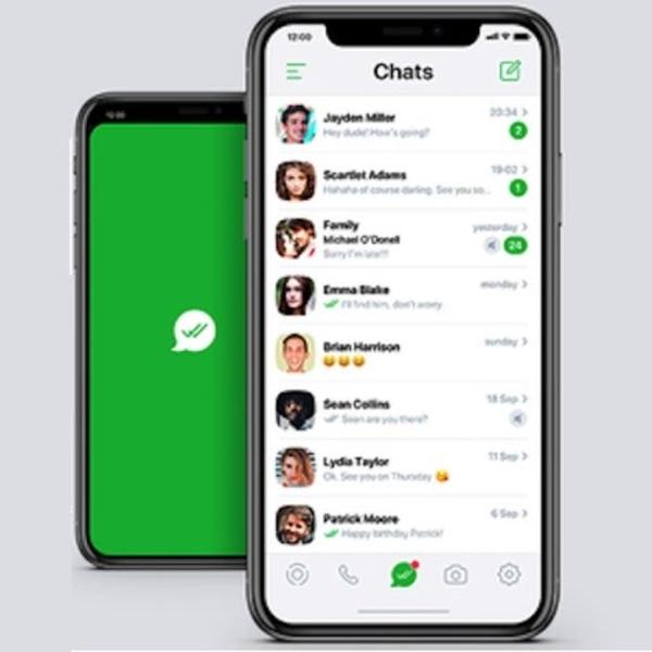 Diseño y estilo de WhatsApp en teléfonos iPhone de Apple.- Blog Hola Telcel