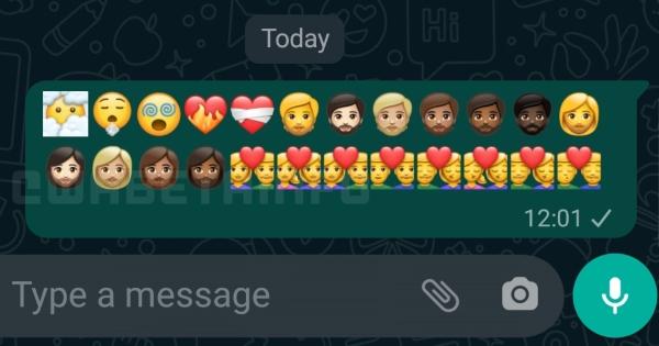 Nuevos emojis de WhatsApp, inspirados en los que estrenó Apple en el iOS 14.5.- Blog Hola Telcel