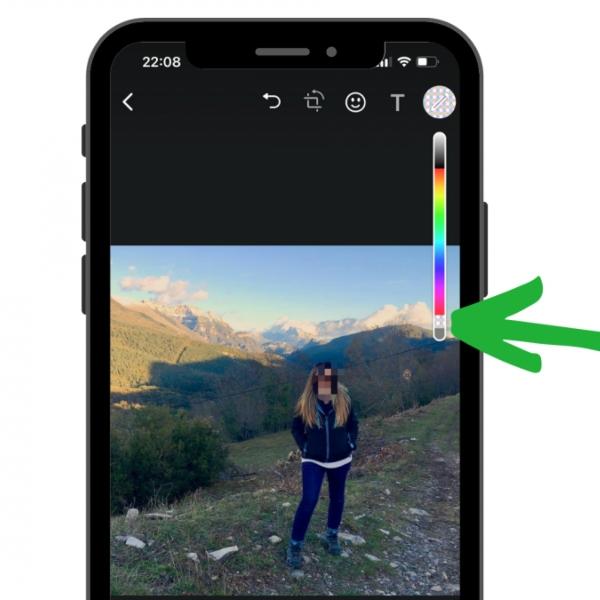 Así puedes pixelar tus fotos de WhatsApp antes de enviarlas desde teléfonos iOS.- Blog Hola Telcel