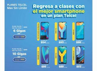 La idea de regresar a la escuela estrenando un grandioso smartphone es posible con un Plan Telcel Max Sin Límite. Vigencia al 01 de septiembre de 2021.- Blog Hola Telcel