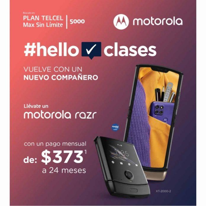 Comienza el ciclo escolar con el pie derecho estrenando un Motorola Razr en un Plan Telcel Max Sin Límite 5000. Vigencia al 18 de agosto de 2021.- Blog Hola Telcel
