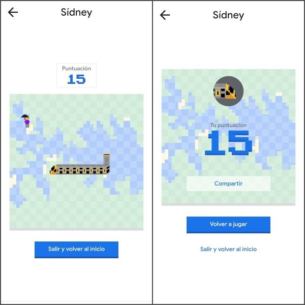 Comparte tu puntaje de Snake de Google Maps en redes sociales.- Blog Hola Telcel