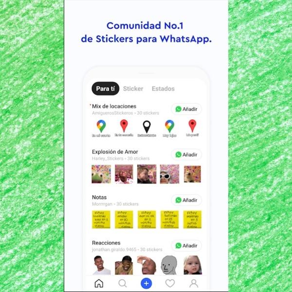 Sticker.ly app para descargar los mejores stickers de la niña coreana para WhatsApp.- Blog Hola Telcel