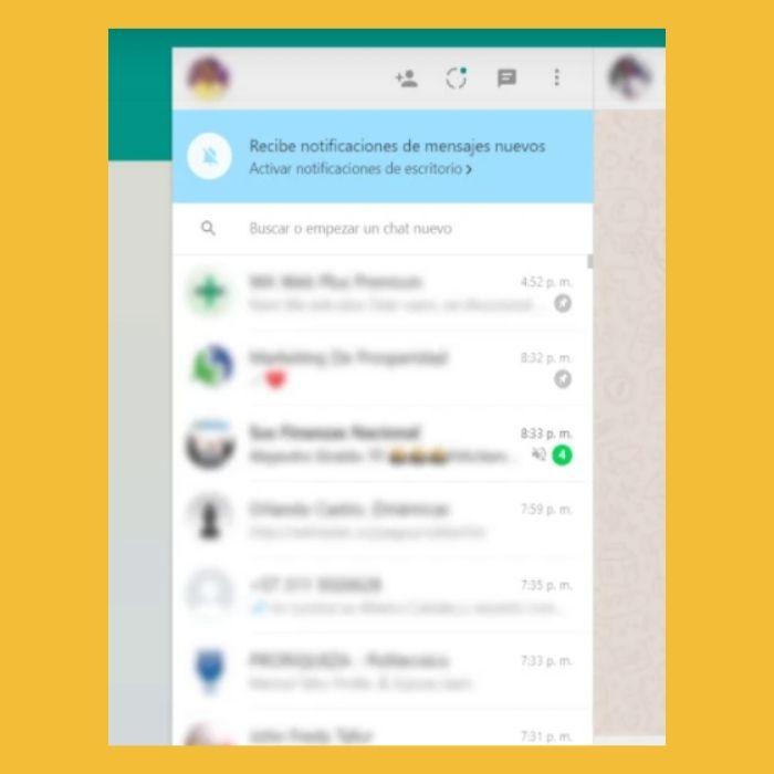 extensión para desenfocar las conversaciones de WhatsApp - Blog Hola Telcel
