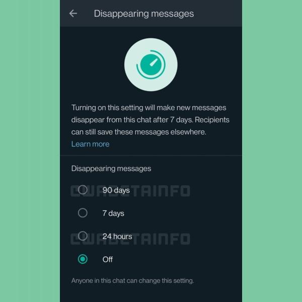 Los mensajes que desaparecen de WhatsApp integrarán una opción más de noventa días.- Blog Hola Telcel