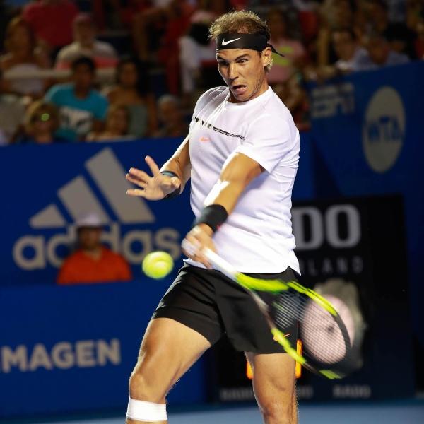 Rafael Nadal es uno de los tenistas famosos que han estado en el Abierto Mexicano Telcel.- Blog Hola Telcel