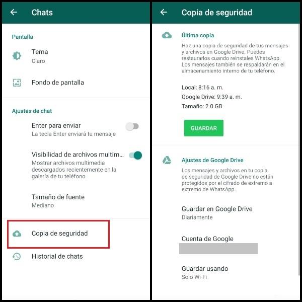 Cómo restaurar tus contactos y conversaciones desde la copia de seguridad de WhatsApp.- Blog Hola Telcel