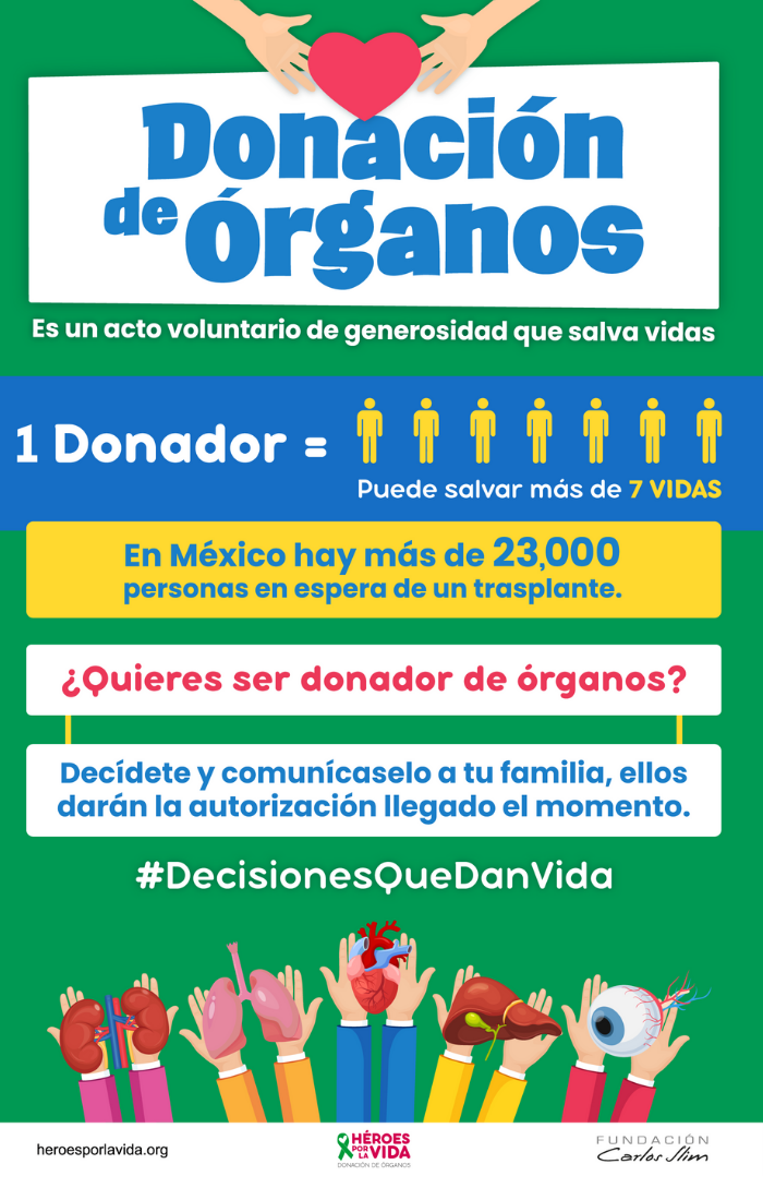 Donación de organos - Blog Hola Telcel