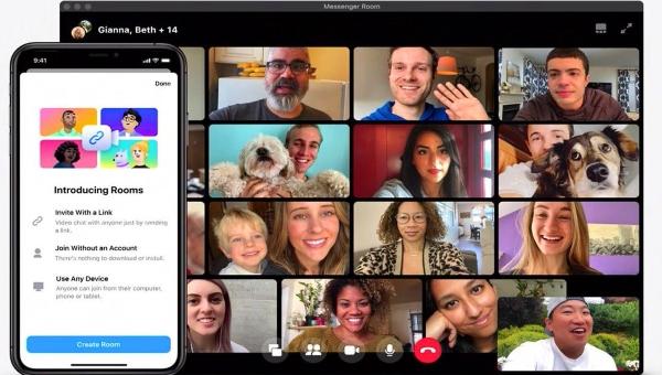 Facebook Messenger Rooms podría integrar nuevas funciones y mejoras tras la desaparición del botón Sala en WhatsApp.- Blog Hola Telcel