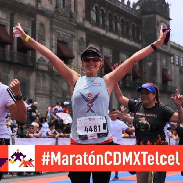Los participantes del Maratón CDMX Telcel recibirán una medalla conmemorativa.- Blog Hola Telcel