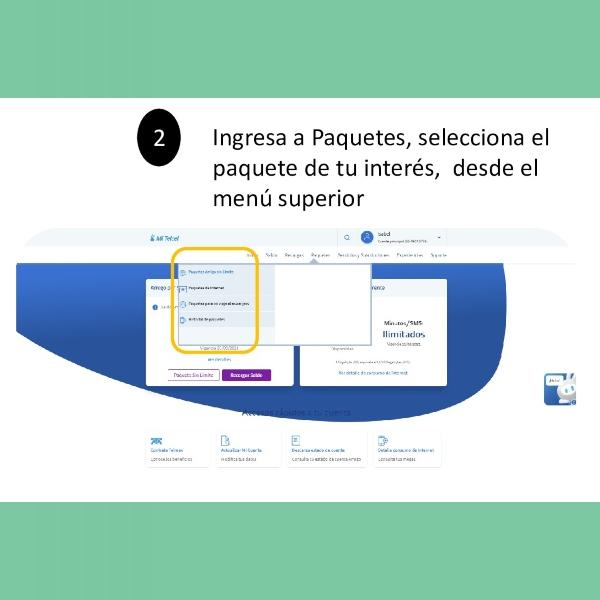 Cómo comprar un Paquete Amigo Sin Límite desde la comodidad de Mi Telcel Web.- Blog Hola Telcel