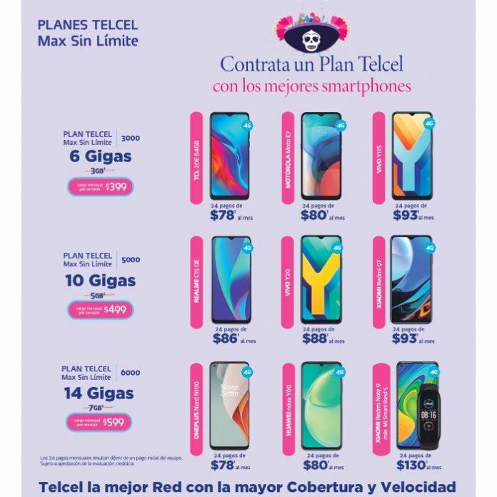 La oportunidad de estrenar con Telcel un nuevo e increíble smartphone está aquí. ¡Lo único que necesitas es tu Plan Telcel! Vigencia al 06 de octubre de 2021.- Blgo Hola Telcel