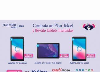 Con un Plan Telcel tienes la oportunidad de estrenar a lo grande con una nueva tablet que te acompañe día a día. Vigencia al 06 de octubre del 2021. - Blog Hola Telcel