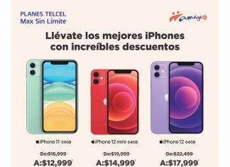 Ya sea en un Plan Telcel o en Amigo Kit, un nuevo iPhone puede ser tuyo al aprovechar esta increíble promoción. Vigencia al 29 de septiembre de 2021.- Blog Hola Telcel