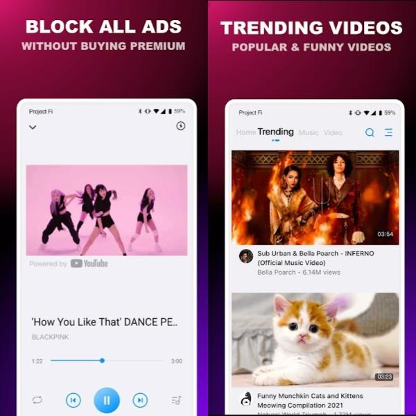 Pure Tuber Player- Block All Ads for Video de Google Play te permite ver videos de YouTube sin ningún anuncio o costo adicional.- Blog Hola Telcel