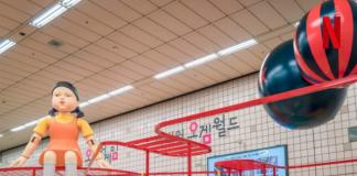 Exhibición de El juego del calamar en Corea del Sur - Blog Hola Telcel