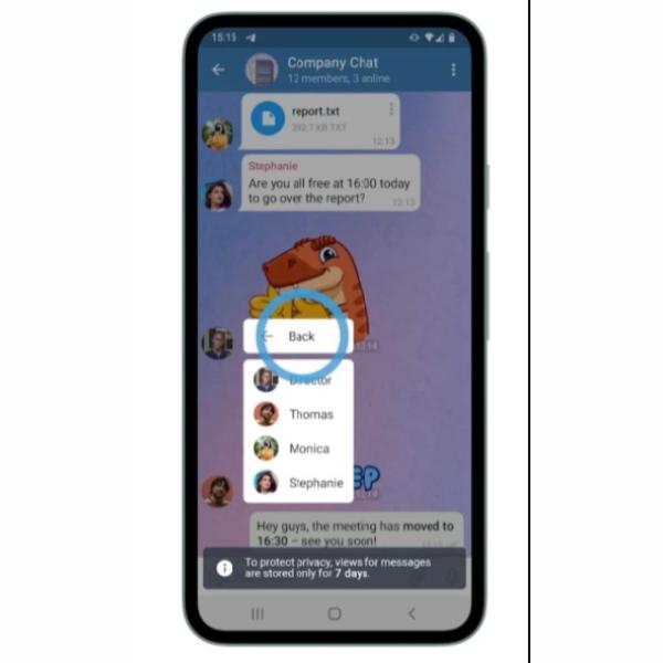 Telegram estrenó la verificación de lectura en chats grupales, función que ya tenía WhatsApp.- Blog Hola Telcel