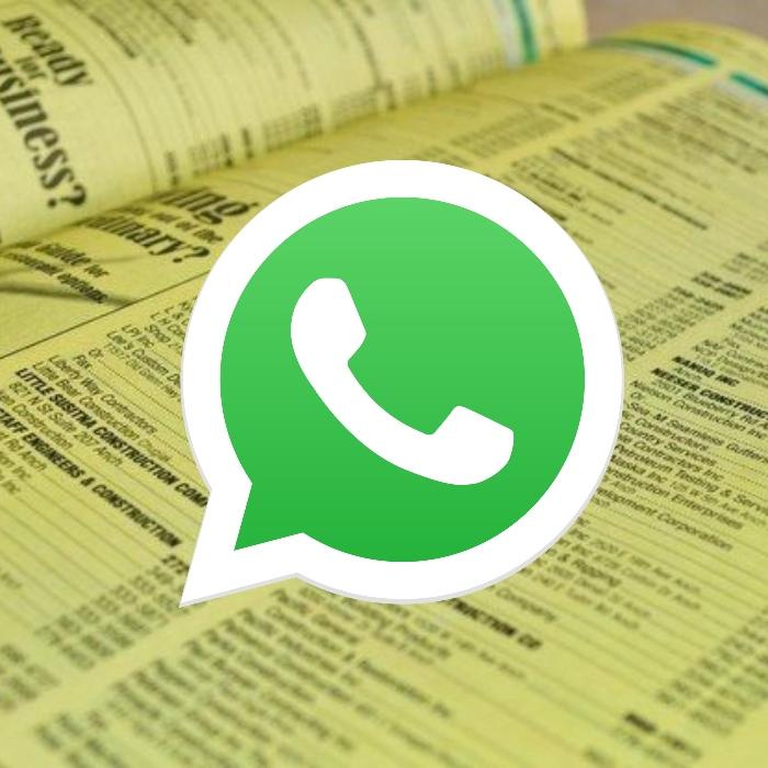La Sección Amarilla ayudaba a comunicarse directamente con servicios y tiendas, una función que pronto tendrá WhatsApp.- Blog Hola Telcel