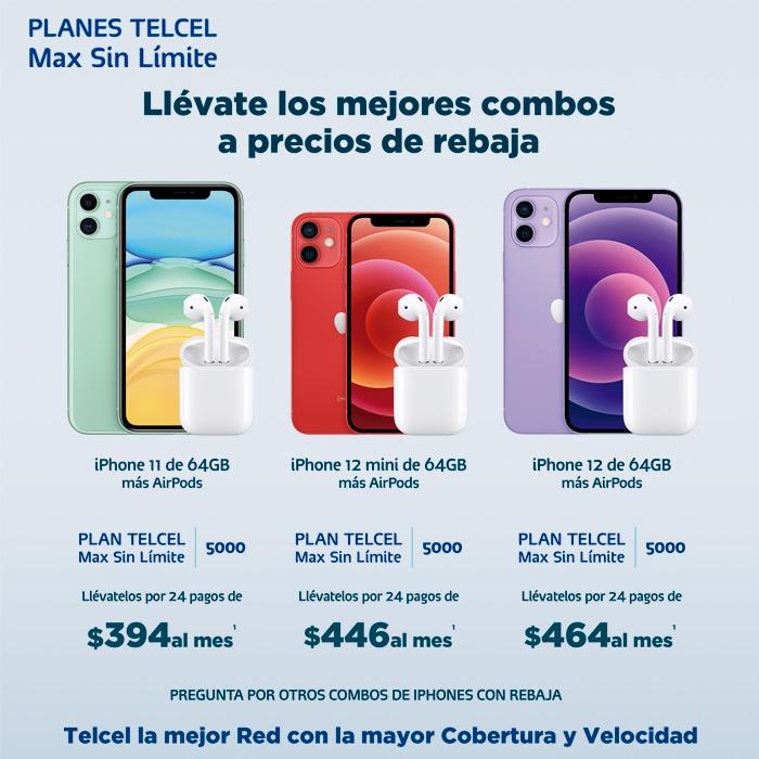 Un nuevo iPhone puede ser completamente tuyo a precio especial en un Plan Telcel Max Sin Límite con esta promoción. Vigencia al 06 de octubre de 2021.- Blog Hola Telcel